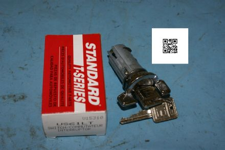 1969-1978 Early Corvette C3 Ignition Lock with Keys, Standard US61L, New